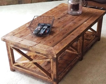Rustic Hand Made Coffee Table