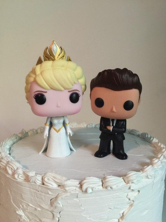 Wolf Wedding Cake Topper