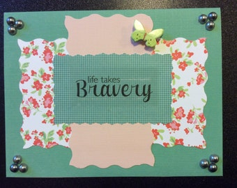 Homemade a Card - Encouragement