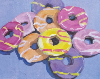 """9. Party ring biscuits - Giclee print 7"""" x 5"""""""