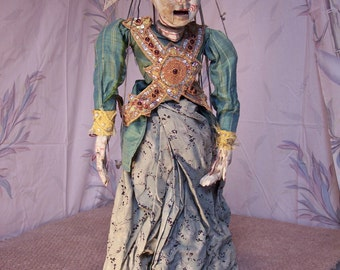 Large Burmese Antique Marionette
