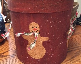 Decorative Snowman Gift Box!