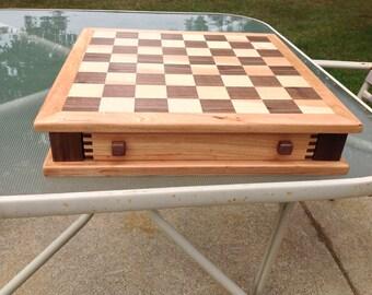Handmade wooden Chessboard