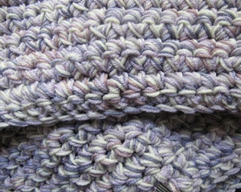 Purple Mountains Baby Blanket