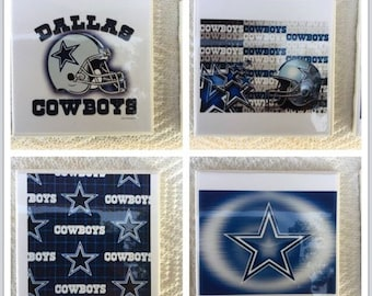 Dallas Cowboys football coasters