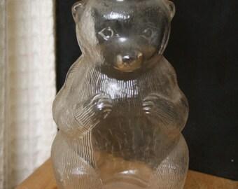 Syrup Bottle Bank - Bear
