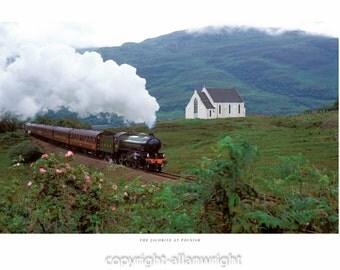 The Jacobite Steam Train, Lochailort.