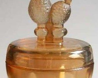 Jeanette Marigold Poodle Dresser Jar