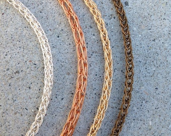 Viking Knit chains