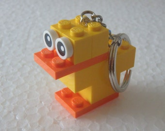 Keychain Duck Lego