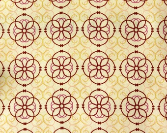 Mozaic Cream - Art Gallery Fabrics - Pat Bravo - Bazaar Style Collection - Priced Per Yard