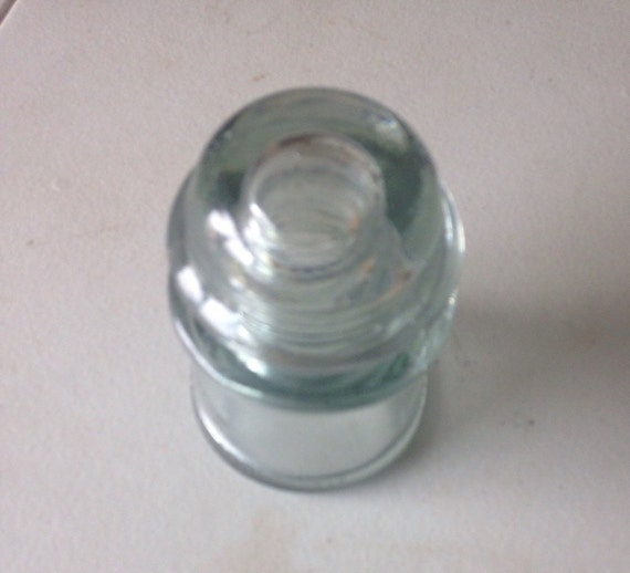 Vintage Glass Insulator Glass Conductor