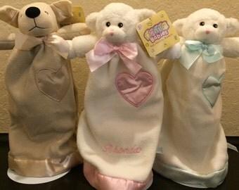 Full Sized Lovies, Personalized Baby Blanket,lovey, baby lovy, personalize lovie blanket,security blanket,lovy, baby shower ideas