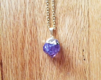 Amethyst Point Pendandt Necklace