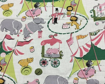 Vintage Circus Fabric by Anna Griffin