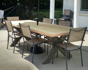 Northern White Cedar Outdoor Table