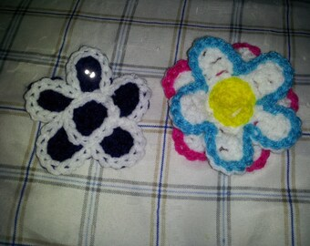 2pc Flower clips