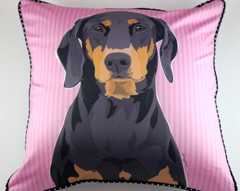 Doberman Pillow