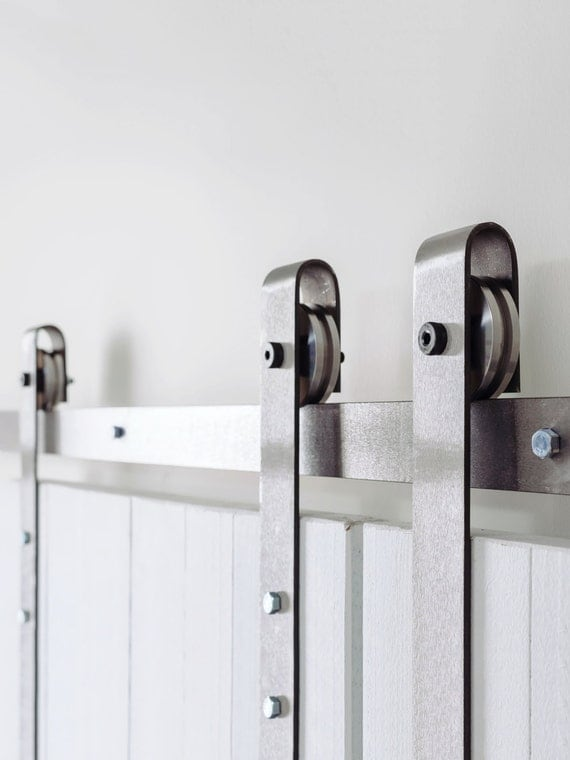 Classic Industrial Sliding Barn Door Hardware