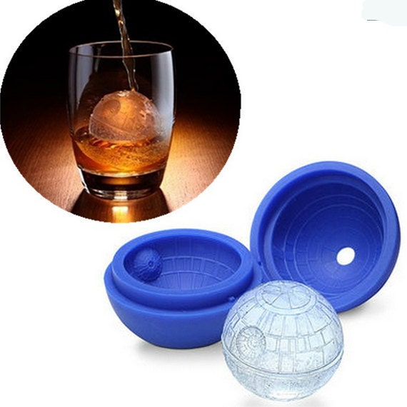 Star Wars Ice Tray Silicone Mold Candle Mold Fondant Cake