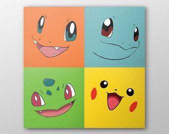 Minimalist Pokemon Poster