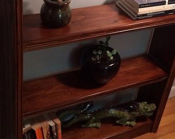 Sleek Pine Bookcase