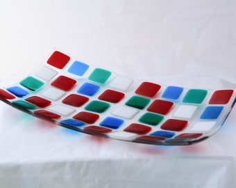Fused Glass Sushi Dish
