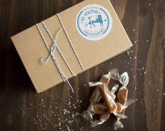 Fleur de Sel Caramels (16oz Box)