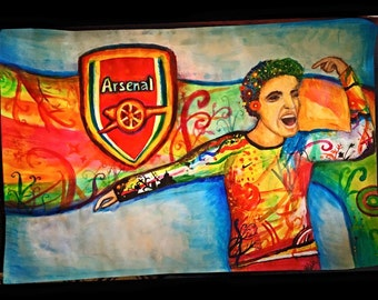 Arsenal soccer- custom by Sara