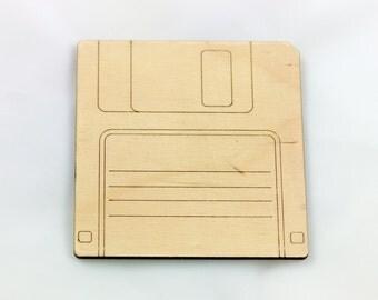Floppy Disc Coaster