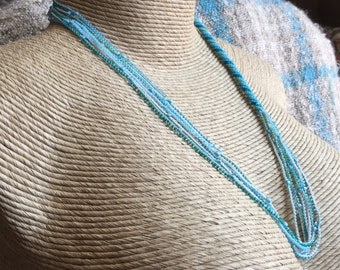 Beach blues necklace