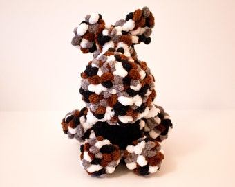 Rocky Road the Crocheted Dragon