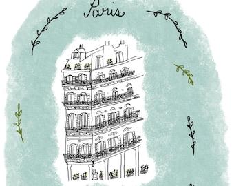 Little Paris Card (2)-Digital