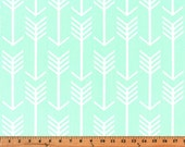 Premier Prints Arrow in Mint Home Decor fabric, 1 yard