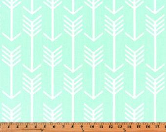 Premier Prints Arrow in Mint Home Decor Twill fabric, 1 yard