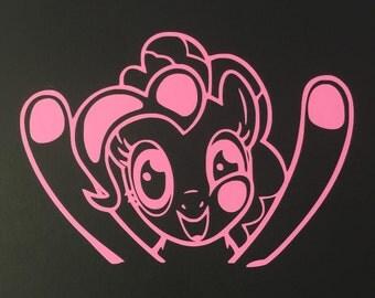 Pinkie Pie Vinyl Decal
