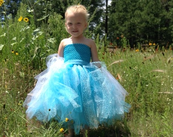 Winter, Let it Go, Tutu, Dress, costume, Halloween, Dress,newborn, toddler, girl, dress up, winter tutu