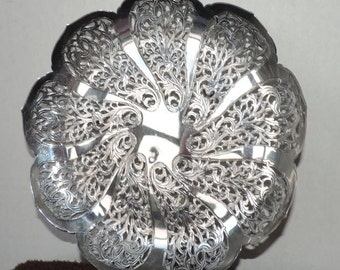 REDUCED! Candy Dish by Meridional Silversmiths