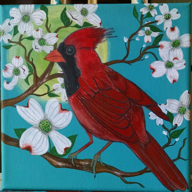 Cardinal Bird Home Decor P Cardinal Mm Fridge Magnet