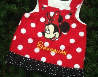 MINNIE mouse a line dress