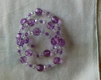 Purple beauty bracelet