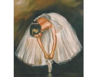 Ballerina Collection - White Tutu 10 x 12