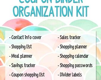 Coupon Binder Organization Kit - Popsicle