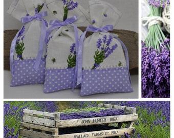 Lavender Sachet, Lavender bag, Lavender gift bag, Aroma sachet,