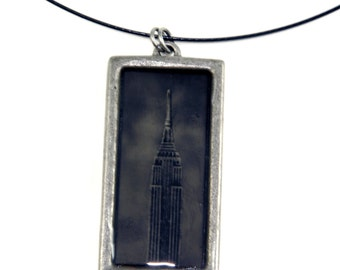 Wet Plate Collodion Tintype Authentic Empire State Building