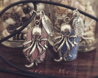 Octopus Best Friends necklaces