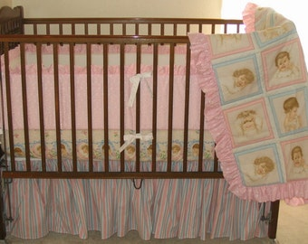 Wonderful Babies Crib Bedding Set by Dance With Joy Baby Bedding