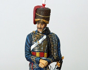 7th Hussars Officer 1815 (120mm)