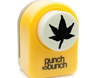 Japanese Maple Leaf Punch - Medium