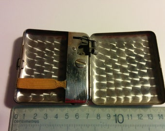 Cigarette case with lighter. PAT 173059, O.S, A.N.1.